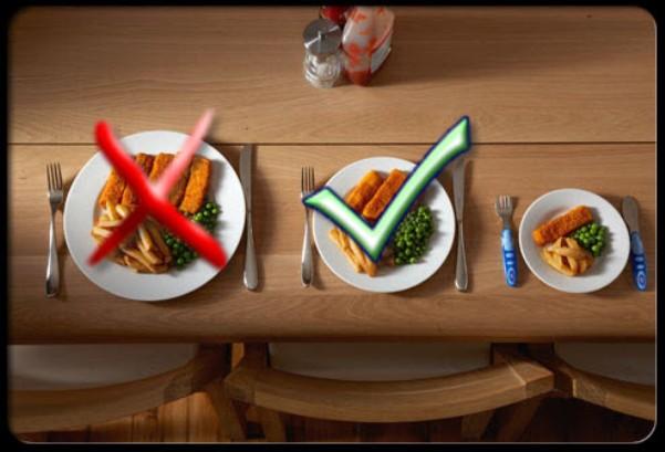 platos pequeños